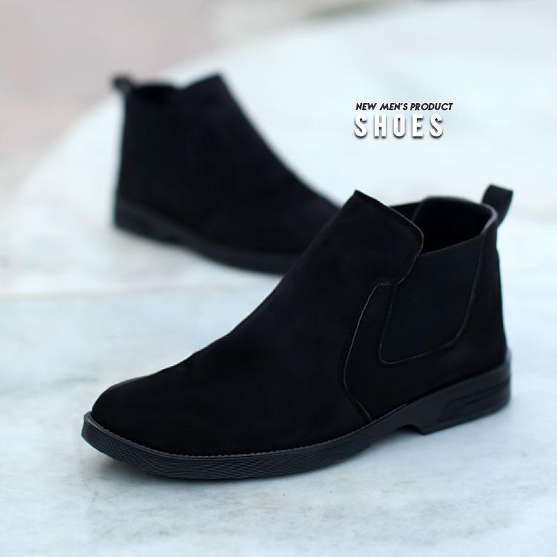 عکس محصول کفش ساقدار مردانه Mita(مشکی)