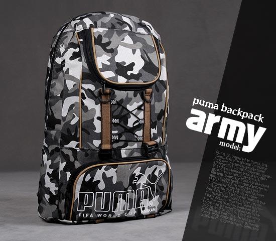 کوله پشتی puma مدل army