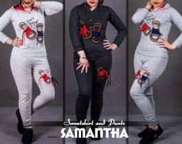ست سویشرت و شلواردخترانه مدل Samantha