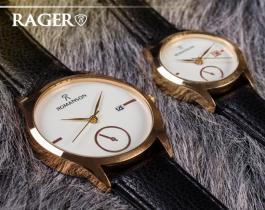 ست ساعت مچیRomanson مدل Rager (صفحه سفید)