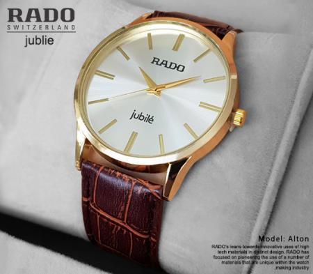 ساعت مچی Rado مدل Alton (قهوه ای)