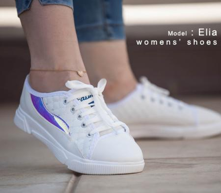 کفش دخترانه مدل  Elia(سفید)