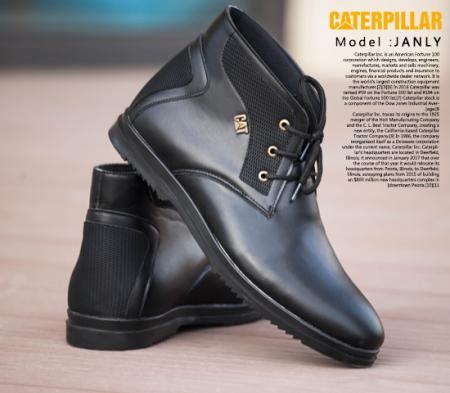 کفش مردانه ساق دار CAT مدل Janly