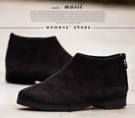 کفش دخترانه مدل Masil (مشکی)