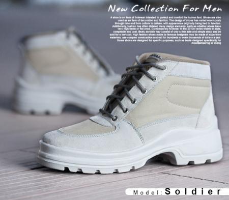 کفش مردانه مدل Soldier