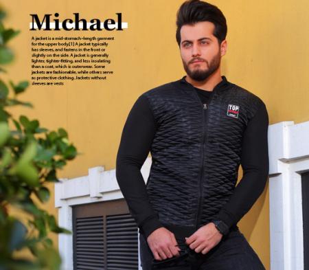 کاپشن مردانه مدل Michael