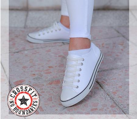 کفش دخترانه مدل ALL STAR (سفید)
