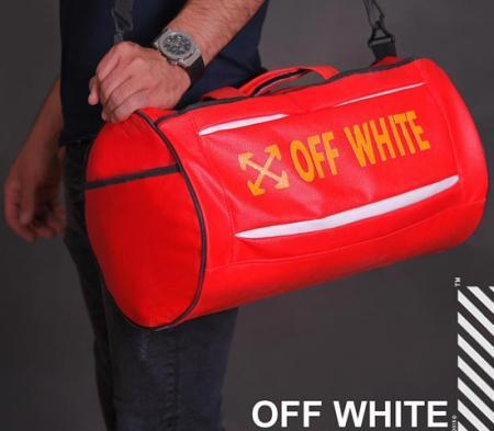 ساک ورزشی Off white (قرمز)