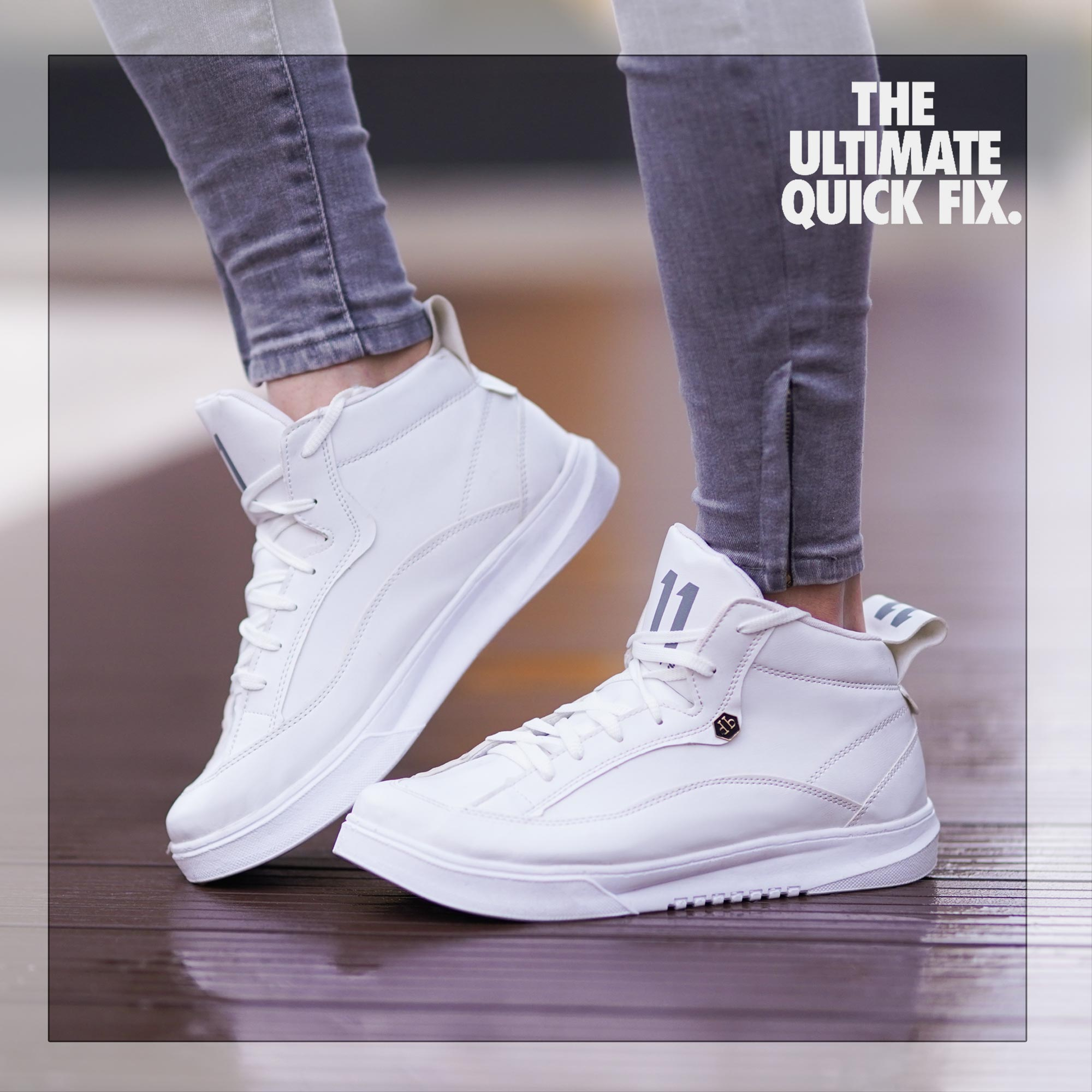 کفش مردانه Felz ( سفید)