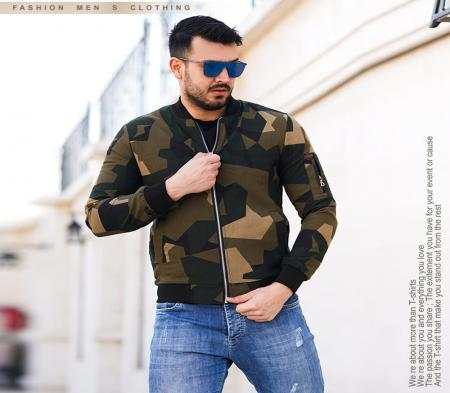 کاپشن مردانه ارتشی Nikl