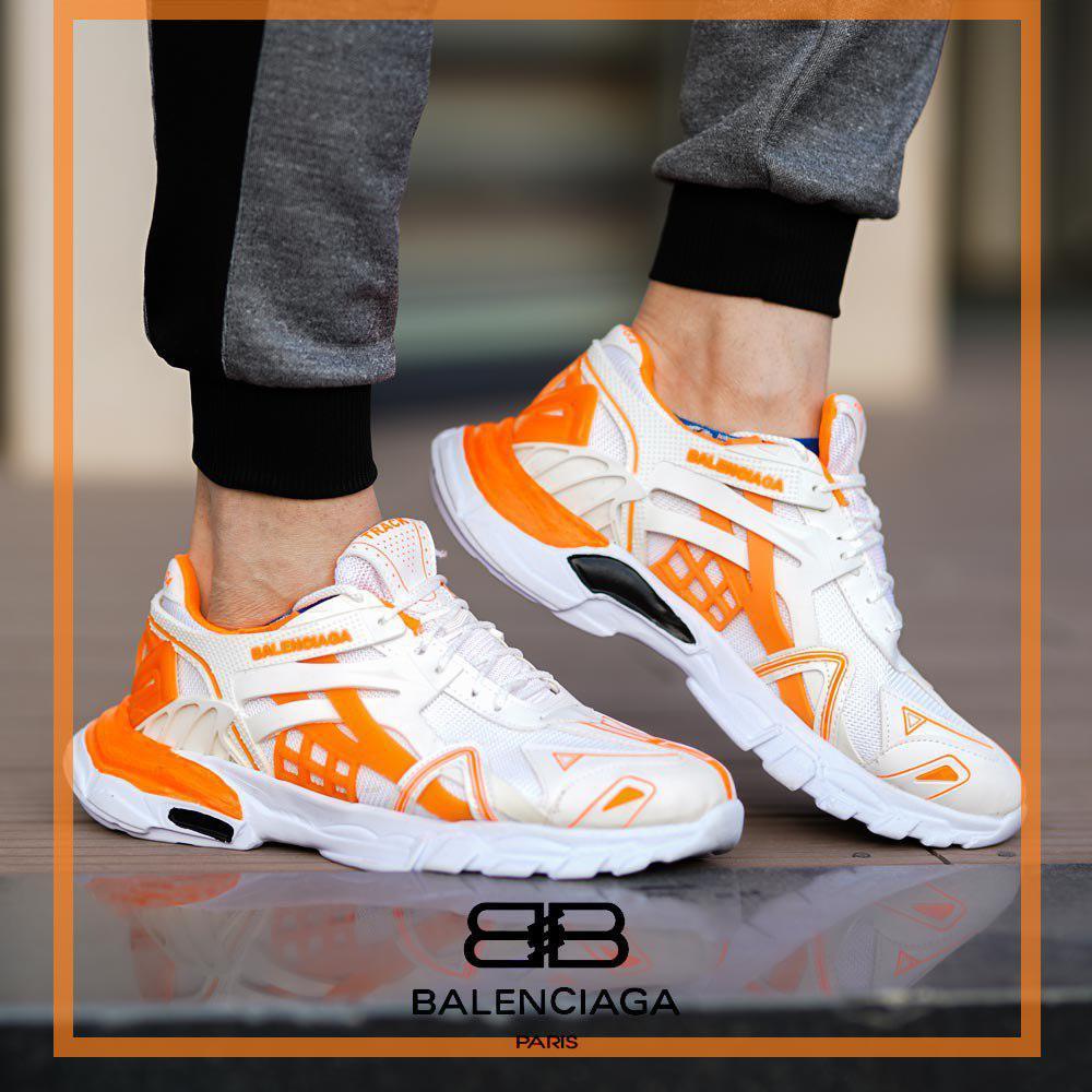 کفش مردانه Chavosh(سفید نارنجی)