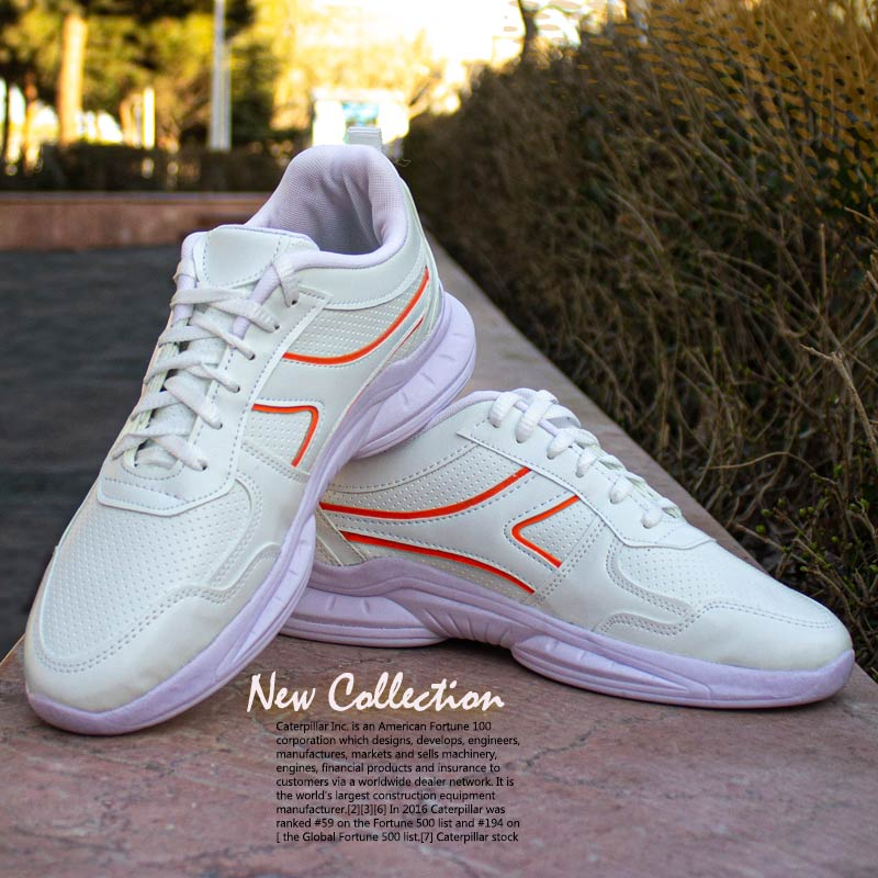 کفش مردانه مدل Neon (سفید نارنجی)