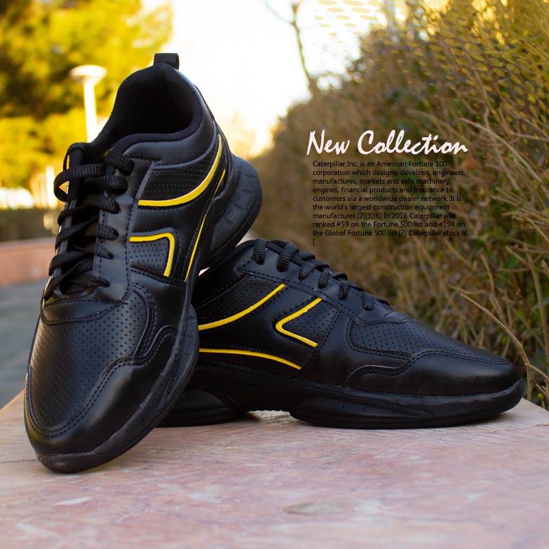 کفش مردانه مدل Neon ( مشکی زرد)