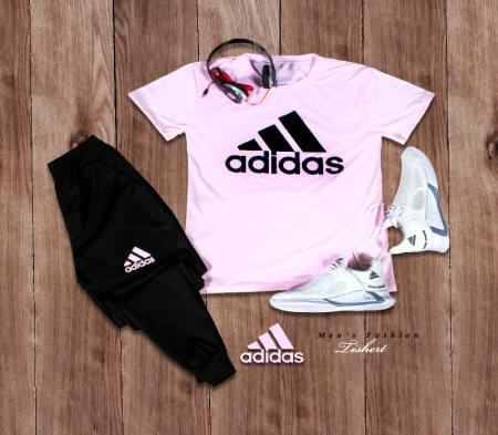 ست تیشرت شلوار Adidas مدل Atro (صورتی)