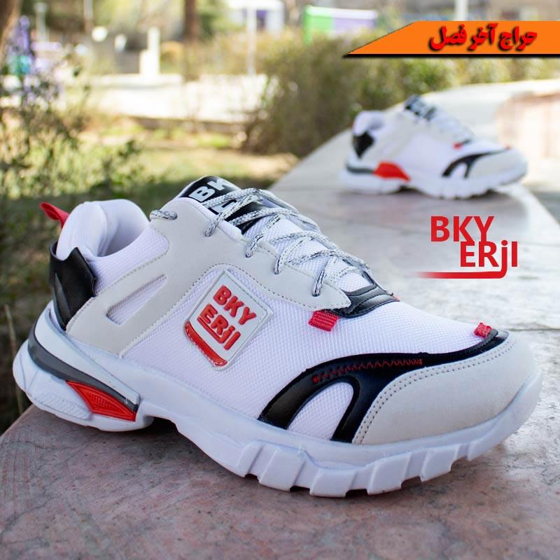 کفش مردانه Nike مدل Bky ( سفیدقرمز)
