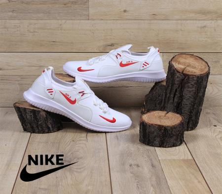 کفش مردانه Nike مدل Adi(سفید قرمز)