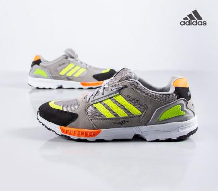 کفش مردانه adidasمدلZX(طوسی سبز)